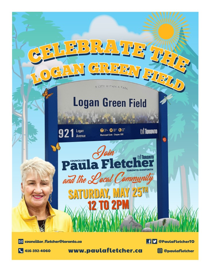 Logan Green Field Poster 2019